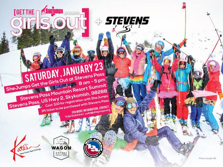 SheJumps GTGO at Stevens Pass