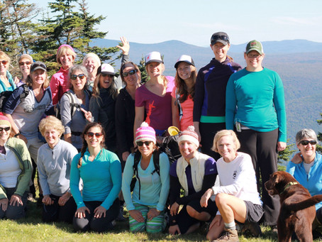 Equinox Mountain Hike and Summit Yoga Adventure Recap