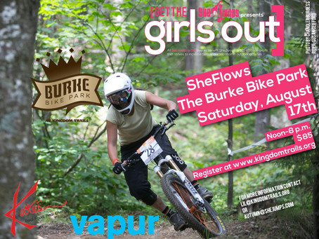 Get Your Downhill On! Jump Out with the Girls at SheFlows the Burke Bike Park