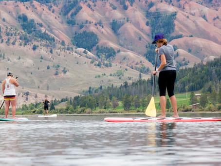 Jackson SheJumps into Paddleboarding and Yoga