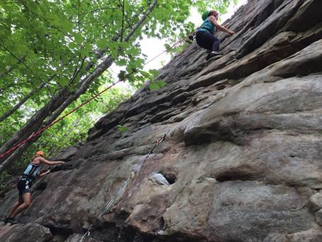 Recap: Climbing at Obed