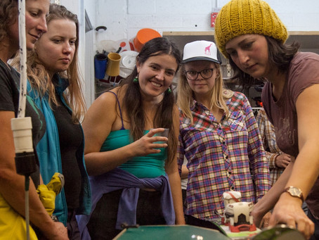 Teton Ladies Partake in Fabulously Fun Wax & Tune Night!