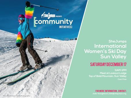 SheJumps + K2 International Women's Ski Day + YOU!