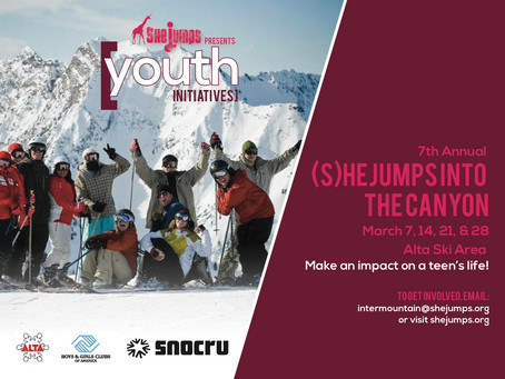 7th Annual (S)heJumps Into the Canyon at Alta