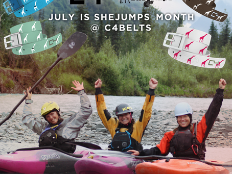C4 Belts Launches New Non-Profit Collaboration with SheJumps!