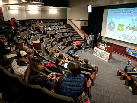SheJumps Intro to Avalanche Safety Awareness Clinic – Spokane 2017 – Recap