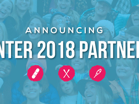 Announcing our Winter Partners