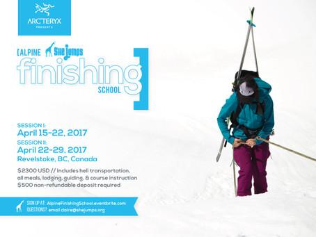 Arc'teryx & SheJumps present 2017 Alpine Finishing School