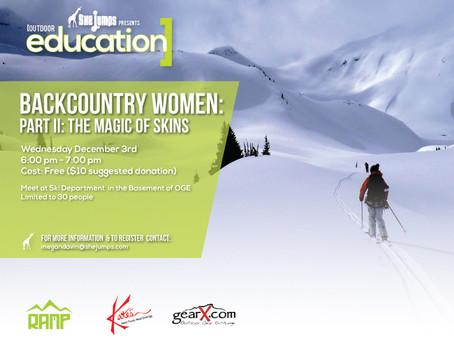 Backcountry Women Part II