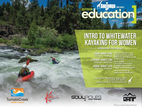 Intro to Whitewater Kayaking in Bend, OR