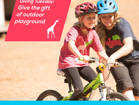 Giving Tuesday: let's give more outdoor opportunities to all!