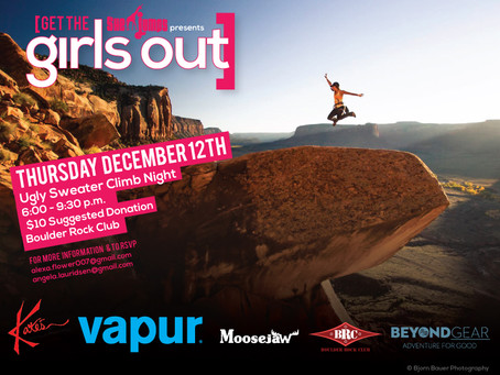 Upcoming Event: Ugly Sweater Climb Night in Boulder, CO