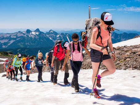 Wild Skills Mountain Camp — Rainier 2018
