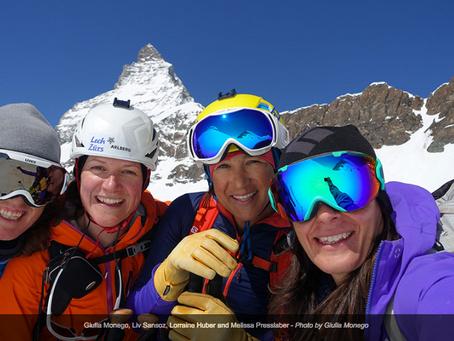 Four Girls and a Matterhorn