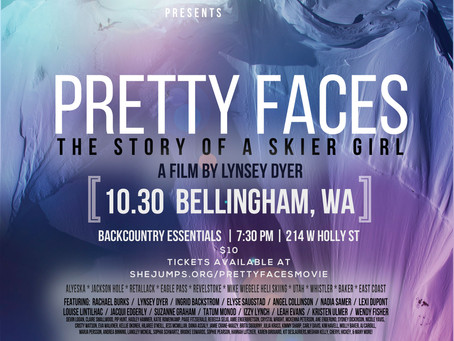 """Pretty Faces """"Story of a Skier Girl"""" Tour: Bellingham, WA"""