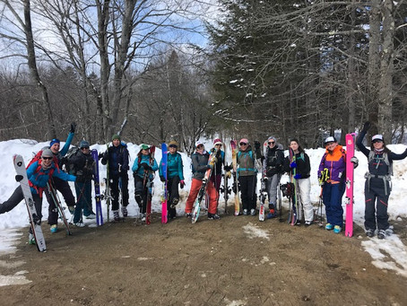 Resort to the Back Country with the Appalachian Mountain Club Skiers Recap