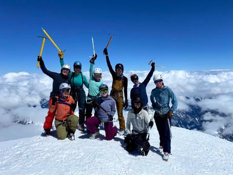 SheJumps Fundraising Climb: Mount Baker Recap 2021