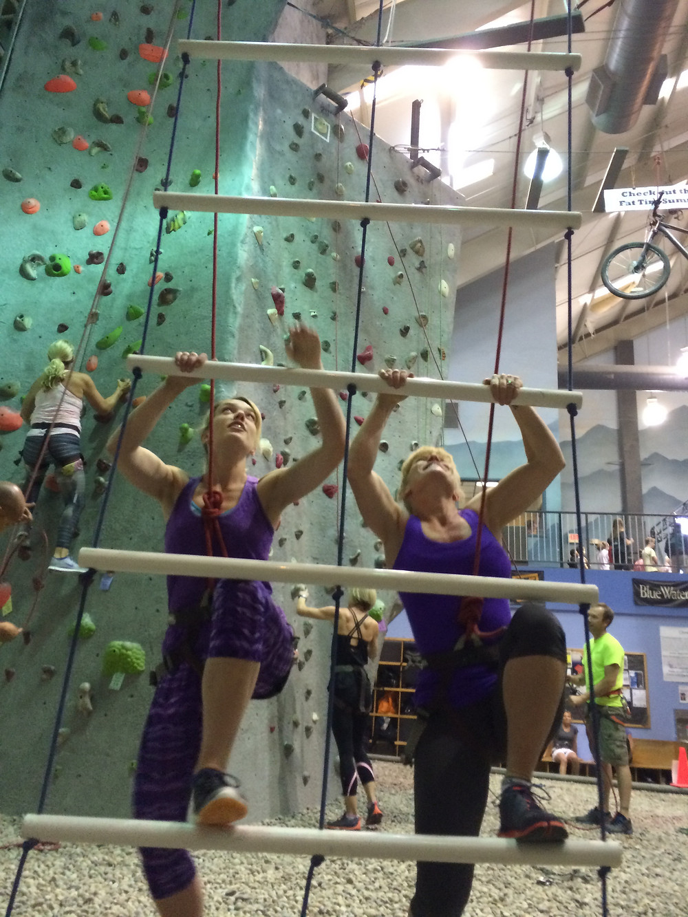 SheJumps Into Climbing