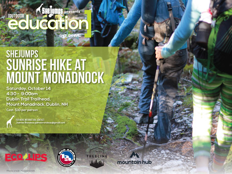 Oct 14 Sunrise Hike at Mt Monadanok