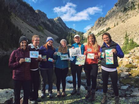 SheJumps Hike and Draw to Melakwa Lake, WA – Recap