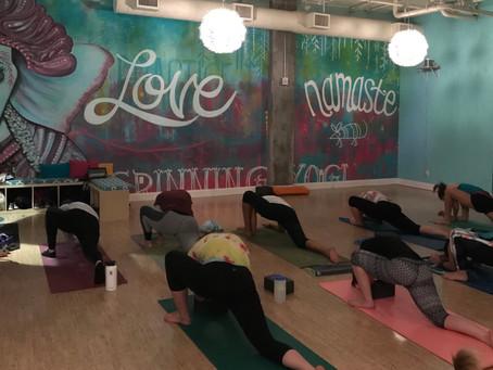 SheJumps Vinyasa Yoga–Recap