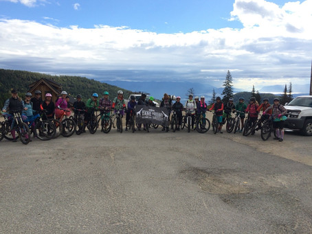 SheJumps Mountain Bike Shuttle Day at Schweitzer Mountain – Recap