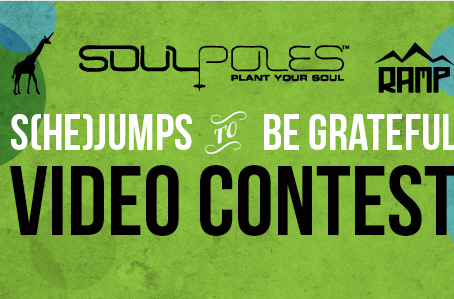 S(he)Jumps to be Grateful Video Contest