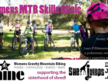 Ladies Skills Clinic at the Meyers Mountain Bike Festival