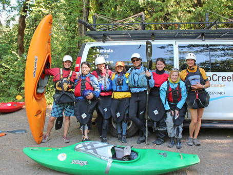 Bend, Oregon Intro to Whitewater Kayaking Recap!