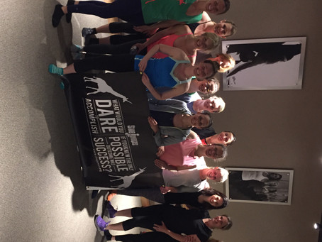 Get the Girls Out Pure Barre Burn & Earn – Recap