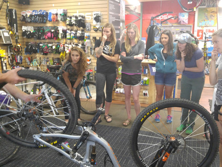 SheJumps Bike Clinic at 2nd Track Sports