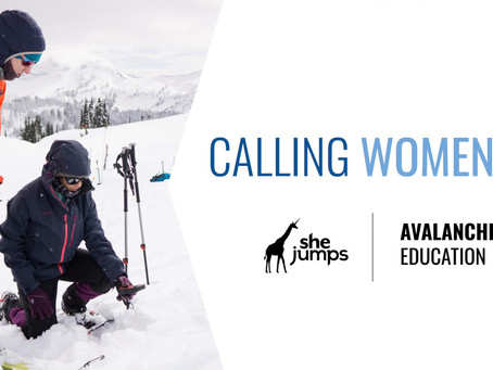 Calling Women In: Avalanche Education