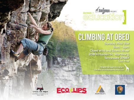 Climbing at Obed – May 31st