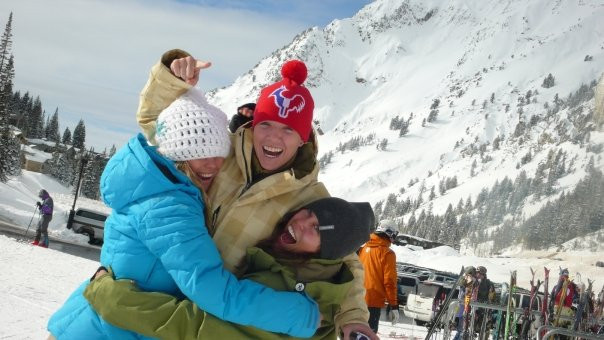 """Back in the Day"" 2009 the trio of co-founders at Alta Ski Area."