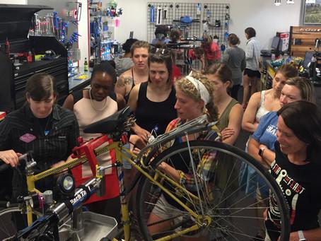 RECAP: Basic Bicycle Maintenance and Riding Skills Workshop