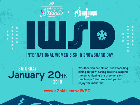 5th Annual International Women's Ski & Snowboard Day: Jan. 20, 2018