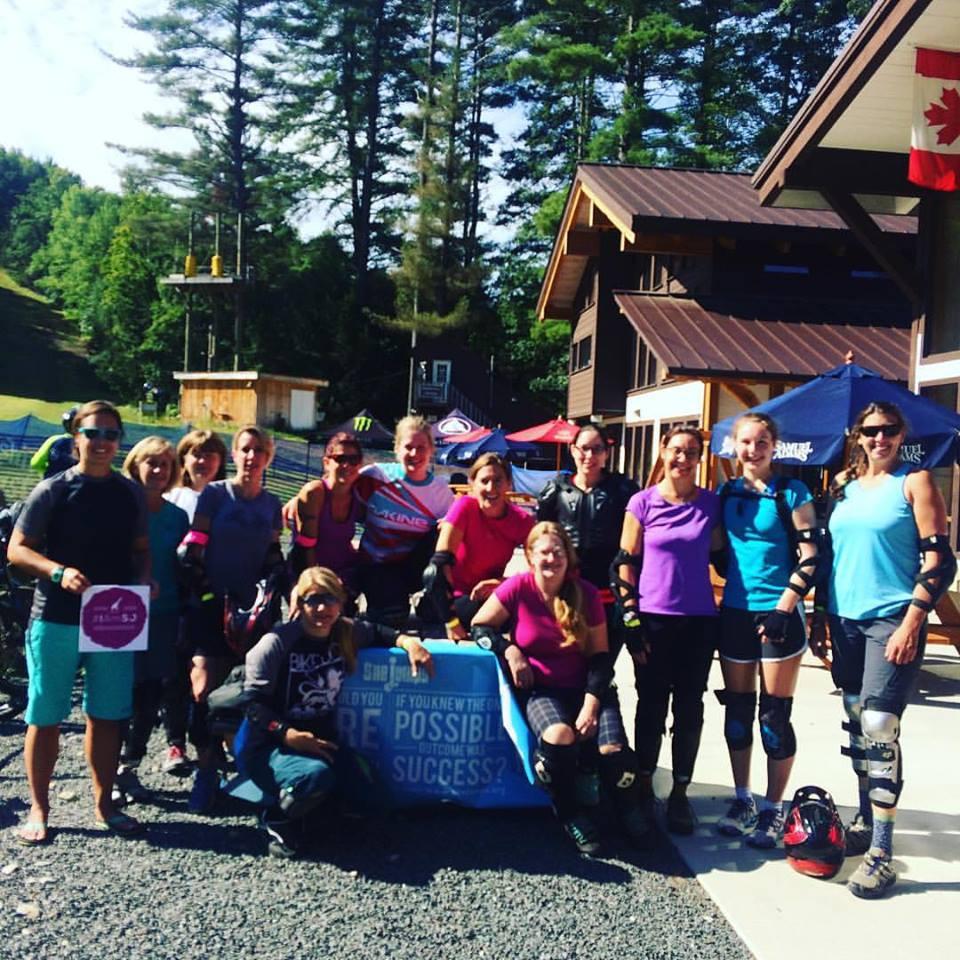 Thunder mountain downhill group photo