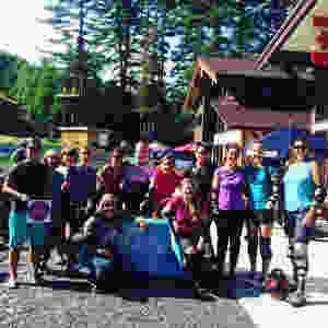 Thunder mountain downhill group photo