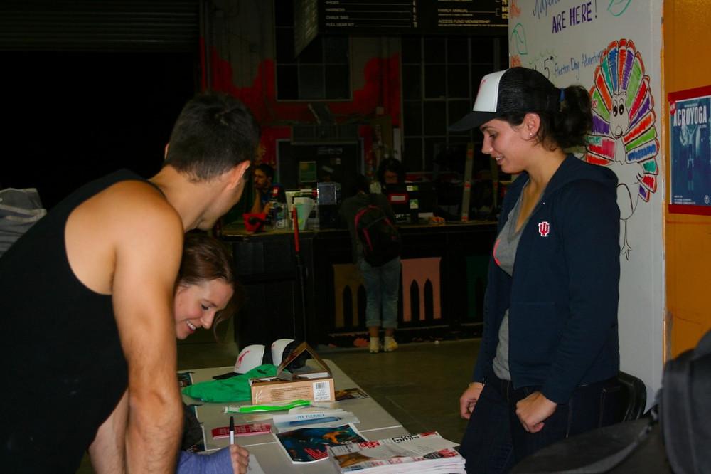Annie Registering New People