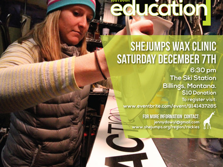 Upcoming Event: Billings Wax Clinic December 7