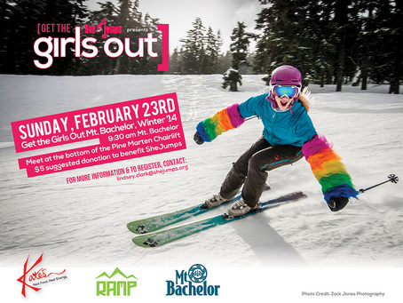 Get the Girls Out Mt. Bachelor, Winter '14 Recap!