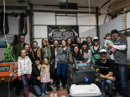 SheJumps Sneva MFG Ski Shop Tour – Recap