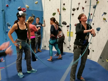 SheJumps and Earth Treks Golden Spread the Love of Climbing in a Free Intro Clinic