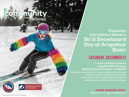 International Womens Ski and Snowboarding Day at Arapahoe Basin