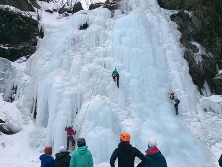 Recap – Ice Climbing Clinic in Valdez