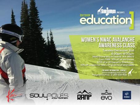 NWAC Avalanche Awareness Class – evo Seattle