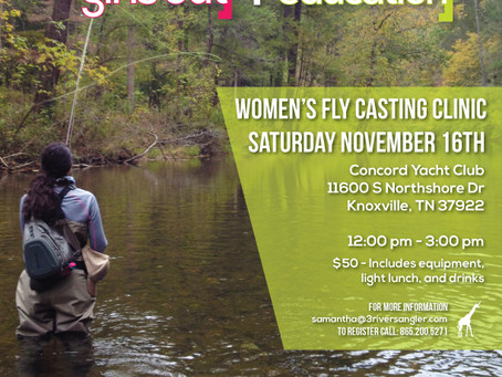 Knoxville Women's Fly Casting Clinic