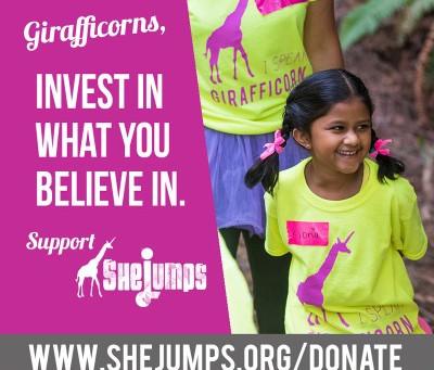 #GivingTuesday & SheJumps Fund Drive