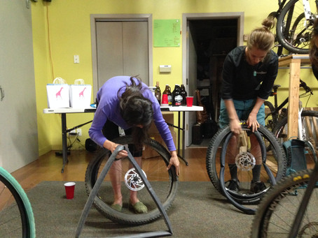 Brown Dog Bike Clinic and ride! – recap