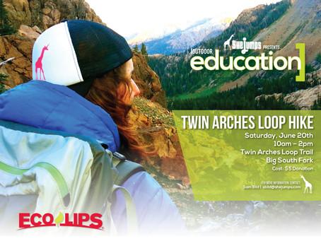 Postponed: Twin Arches Loop Hike